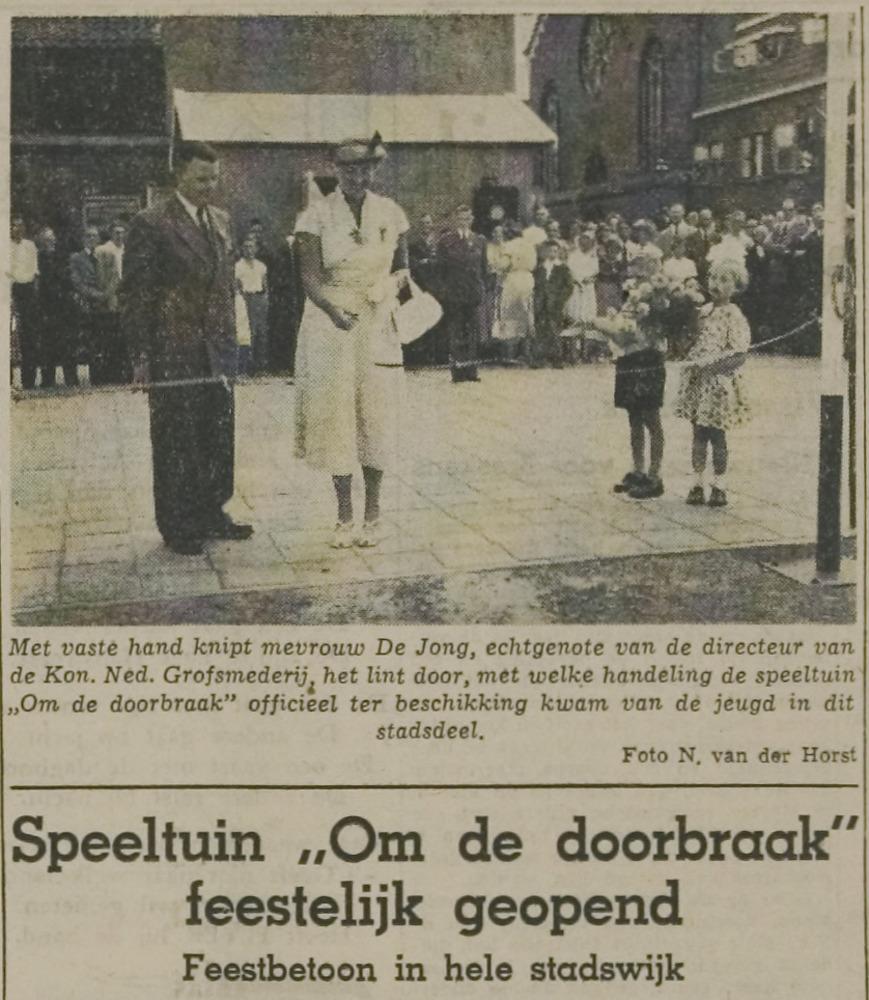 krantenartikel_1955opening